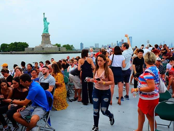 4 de Julho em Nova York - Cruzeiro Fogos de Artifício