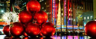 Clima de Natal em Nova York