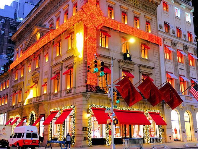 Clima de Natal em Nova York - Cartier