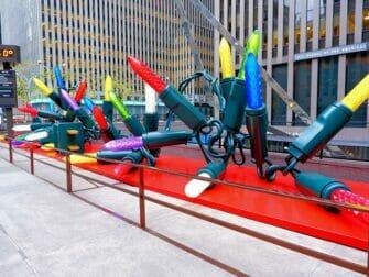 Natal em Nova York - Decorações