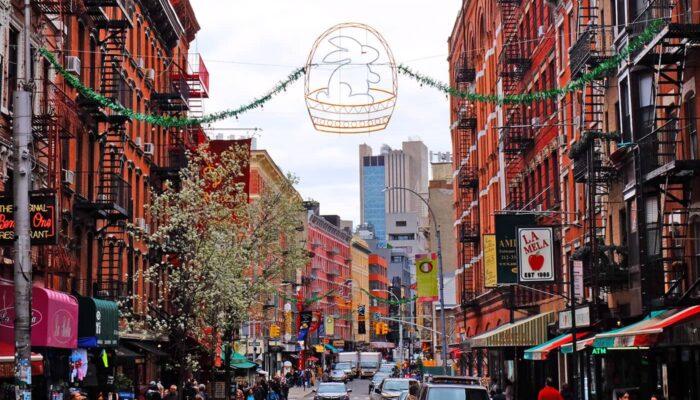 Páscoa em Nova York - Little Italy