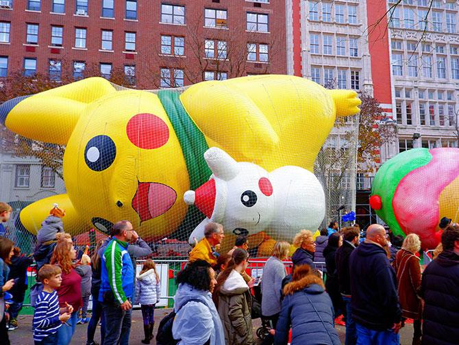 Macy's Thanksgiving Parade - Os balões