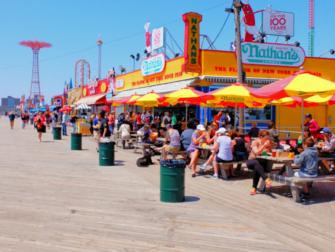 Memorial Day em Nova York - Calçadão Coney Island