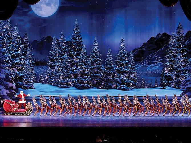 Ingressos para Radio City Christmas Spectacular - Papai Noel