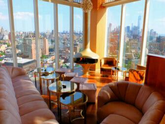 Bares em Cobertura em Nova York - Vista no The Top of the Standard