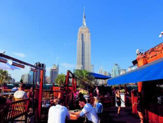 Os melhores bares em coberturas de Nova York - 230 Fifth de Dia
