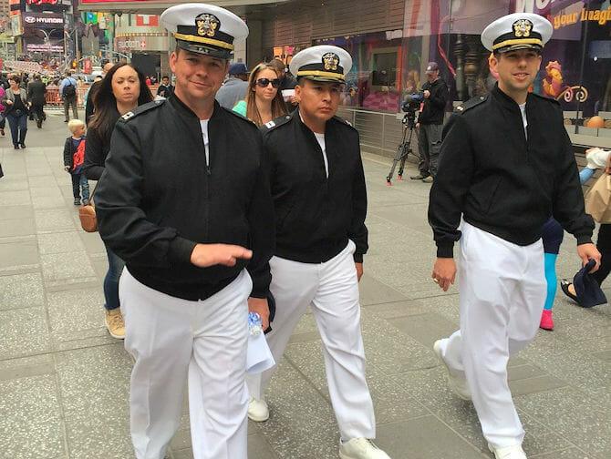 Fleet Week em Nova York em Maio