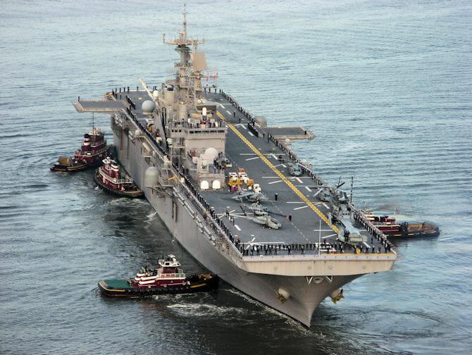Fleet Week Nova York navio