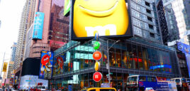 M&M's Store na Times Square