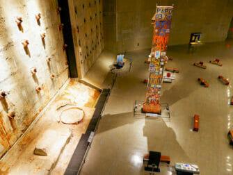 Museu 11 de Setembro em Nova York - Interior