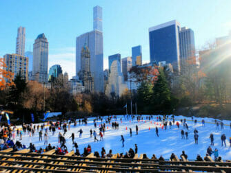 Central Park - Patinação no Wollman Rink