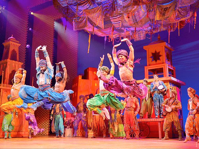 Ingressos para Aladdin na Broadway - Arabian Nights