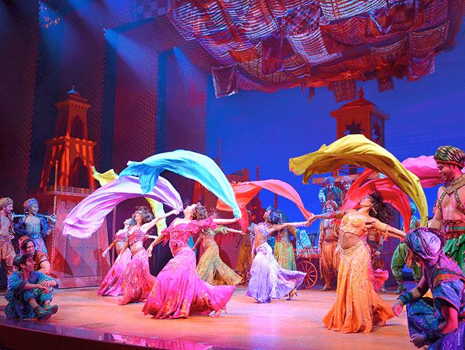 Ingressos para Aladdin na Broadway - Dança