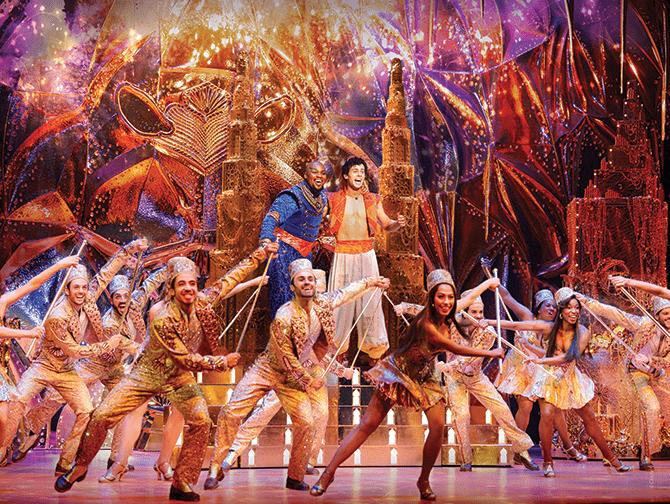 Ingressos para Aladdin na Broadway - Gênio e Aladdin