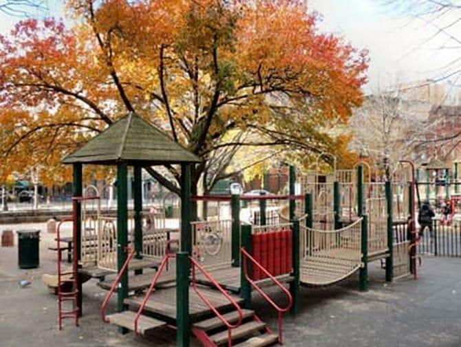Nova York Bleecker Street Playground