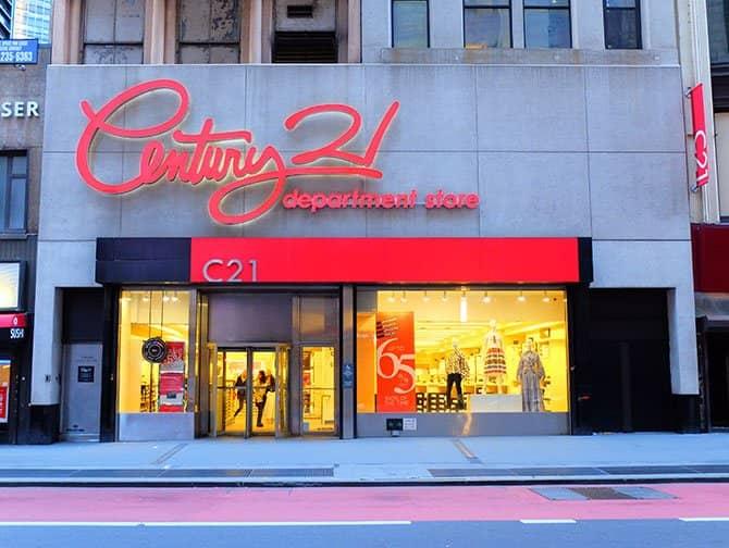 Outlets em Nova York - Century 21