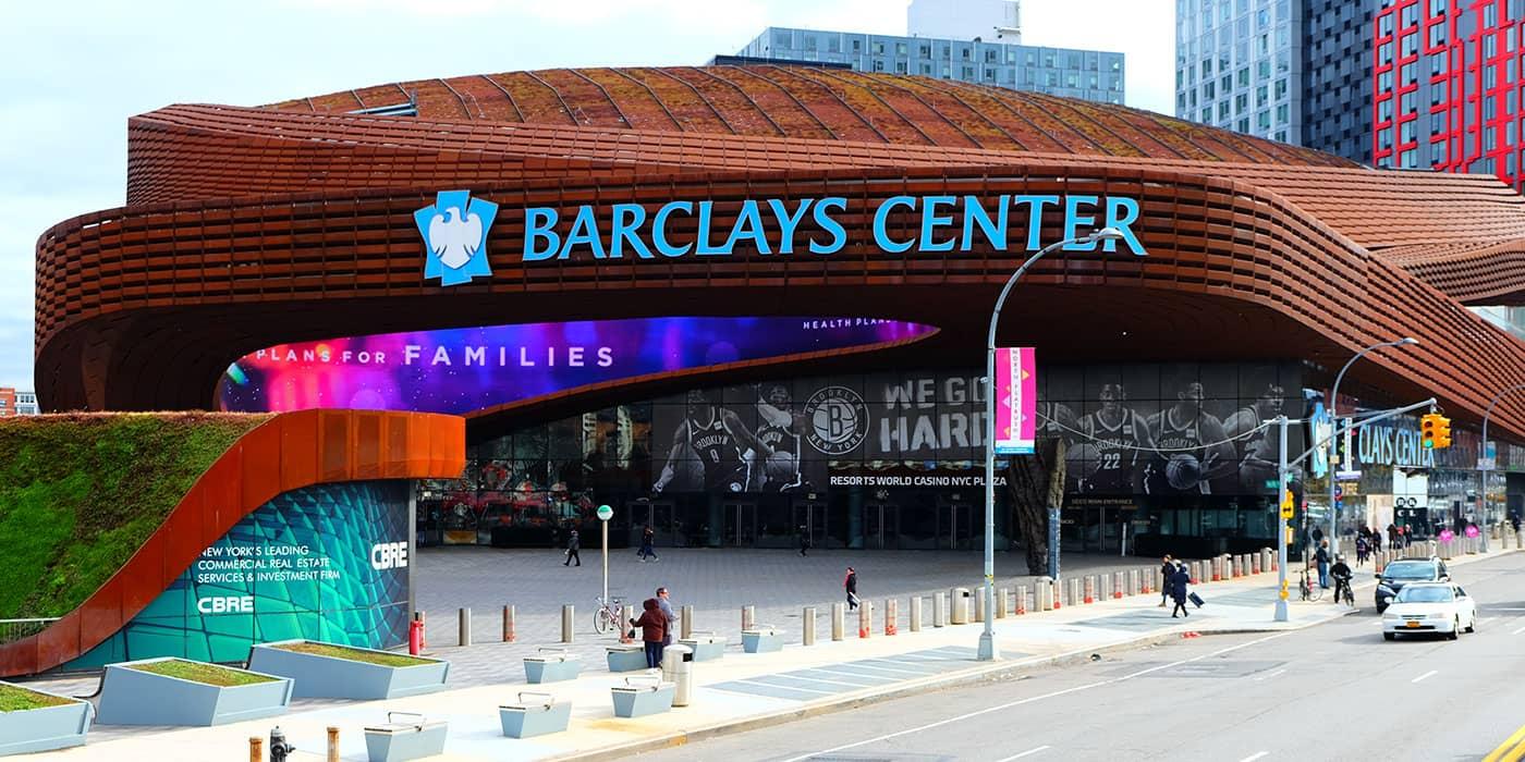 Ingressos para Brooklyn Nets - Barclays Center