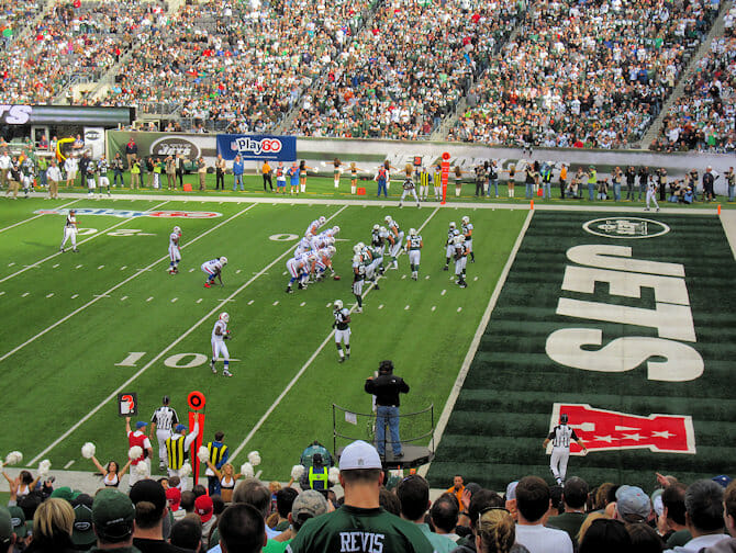 New York Jets - Partida