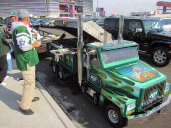 New York Jets - Estacionamento