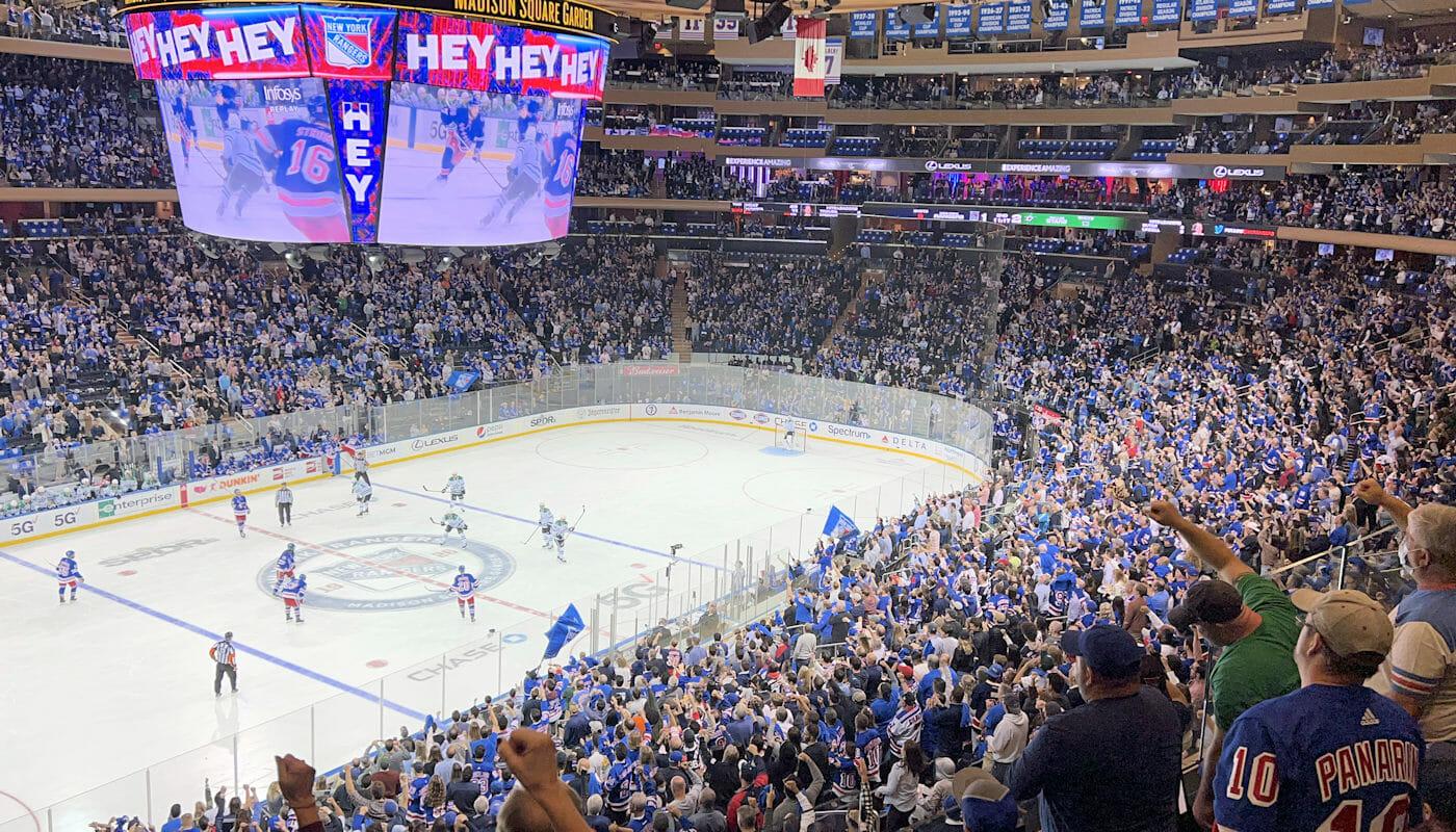 Ingressos para os New York Rangers - Madison Square Garden