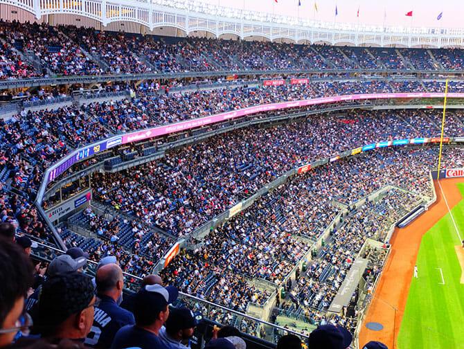 Ingressos para os New York Yankees - Público
