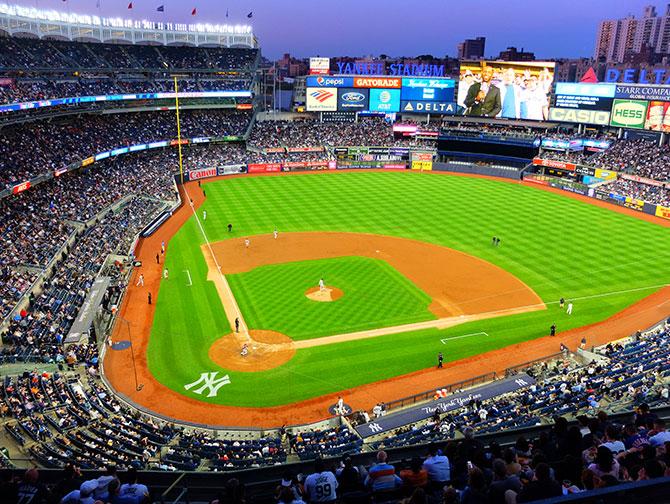 Ingressos para os New York Yankees - Campo