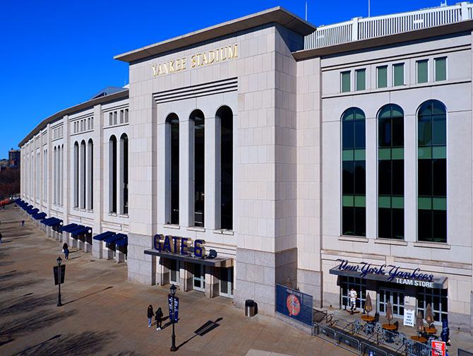 Ingressos para os New York Yankees - Yankee Stadium
