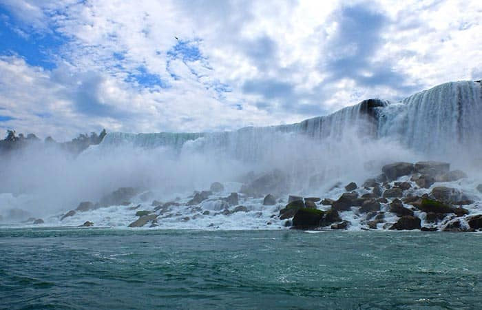 Passeio de Nova York para Niagara Falls de 2 dias - Horseshoe Falls