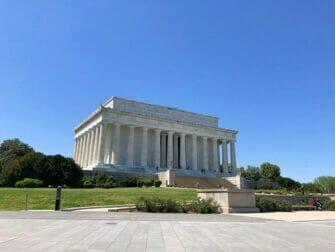 Passeio de ônibus para Washington - Lincoln Memorial