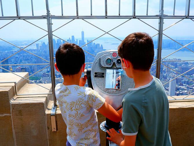 Atividades em Nova York para crianças