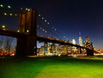 Brooklyn Bridge Park em Nova York - Brooklyn Bridge