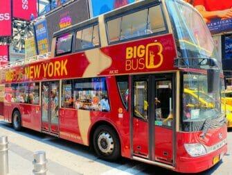 Ônibus turístico em Nova York - Big Bus