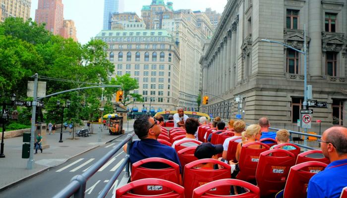 Ônibus turístico em Nova York - Passeio