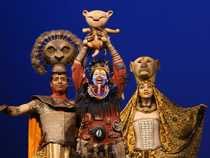 Ingressos para O Rei Leão na Broadway - Rafiki