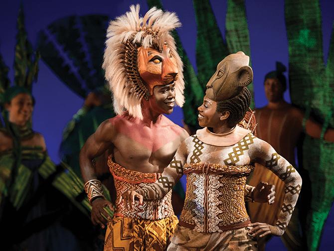 Ingressos para O Rei Leão na Broadway - Simba e Nala