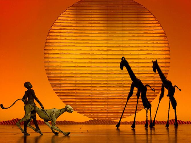 Ingressos para O Rei Leão na Broadway - Palco