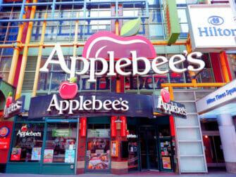 Onde comer com crianças em Nova York - Applebee's
