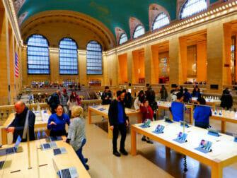 Eletrônicos e gadgets em Nova York - Apple Store Grand Central