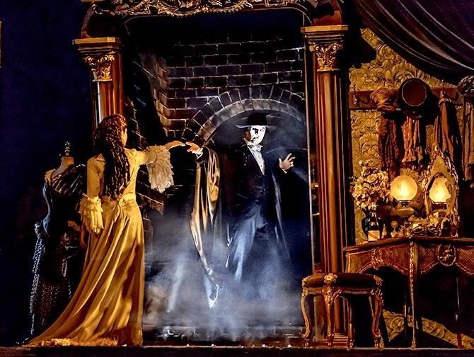 Ingressos para O Fantasma da Ópera na Broadway - Decor