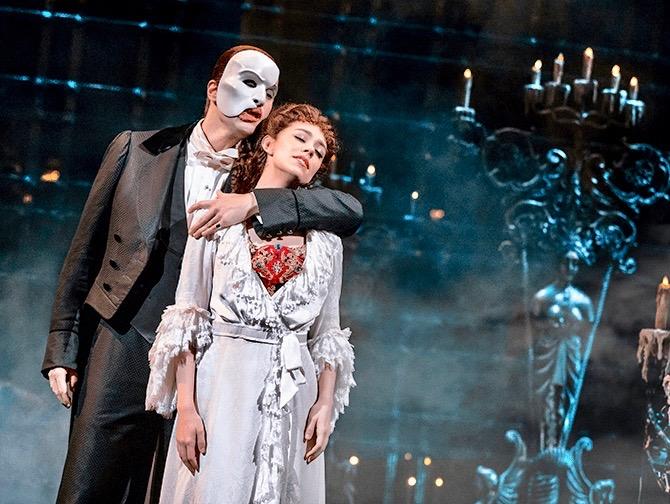 Ingressos para O Fantasma da Ópera na Broadway - O Fantasma e Christine