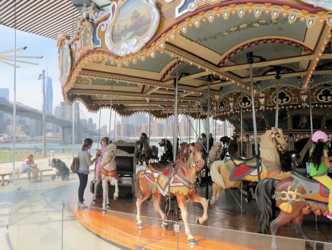 Jane's Carousel em Nova York