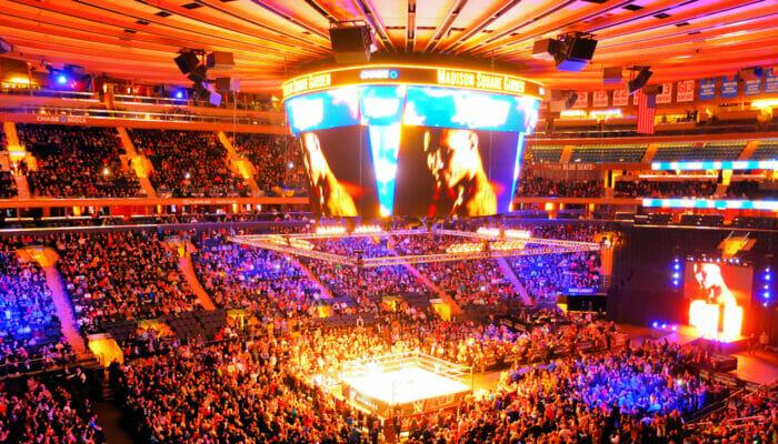 Madison Square Garden em Nova York - Interior