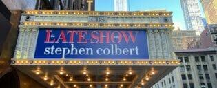 Programa de TV em Nova York