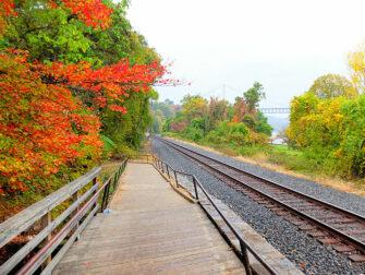 Passeio de Nova York para Bear Mountain - Linha do Trem