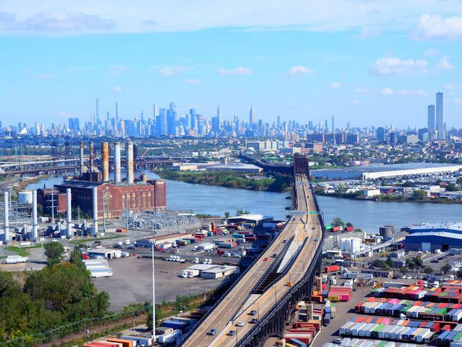 Transporte do aeroporto Newark para Manhattan
