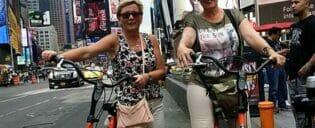 Excursão de bicicleta por Manhattan