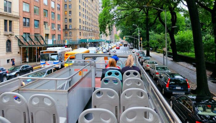 Ônibus turístico Gray Line em Nova York - Guia