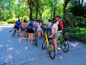 pedalando em Nova York