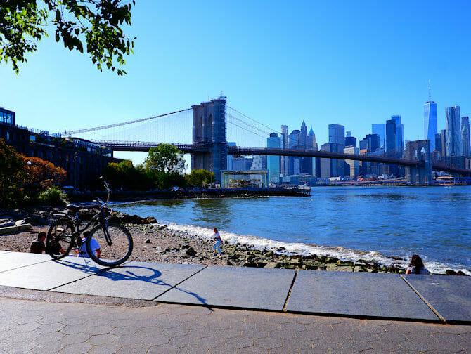 Aluguel de bicicletas em Nova York - Brooklyn Bridge