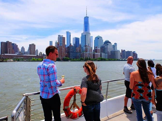 Cruzeiro com almoço no Bateaux em Nova York - A vista